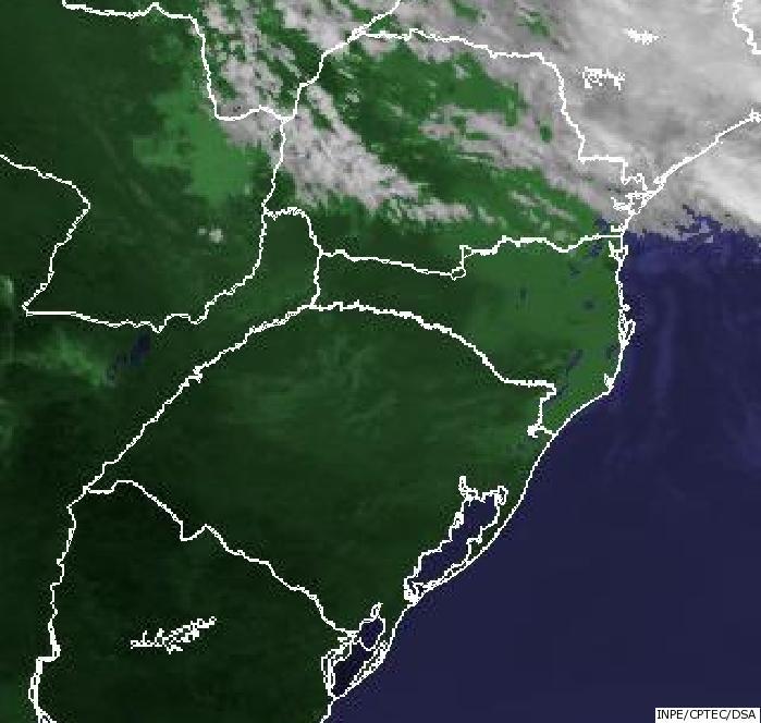 Imagem satélite Climatempo